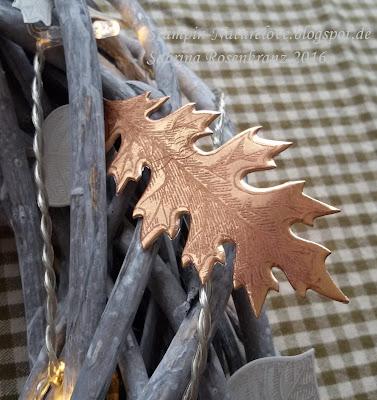 Herbstliche deko f r den tisch naturelove - Herbstdeko fur den tisch ...