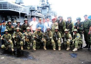 Kopaska TNI AL Latihan dengan Pasukan Khusus Rusia