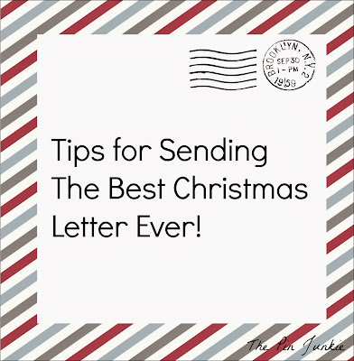 Tips for sending the best Christmas letter EVER!