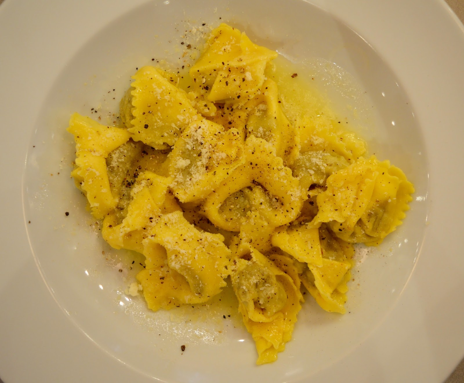 Carluccio's - intu Metrocentre | Children's Menu Review - a la carte venison ravioli
