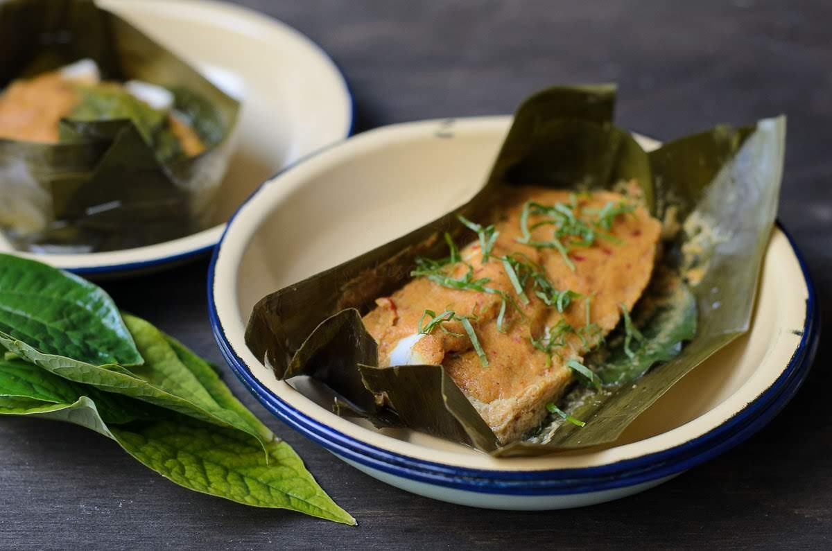 Spicy and creamy Otak-Otak /Spicy Fish Parcels