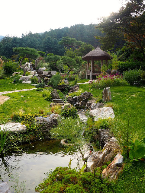 Korean Garden in the Garden of Morning Calm, Gyeonggi-do, South Korea