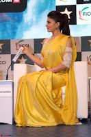 Gorgeous Jacqueline Fernandez  in yellow saree 45.JPG