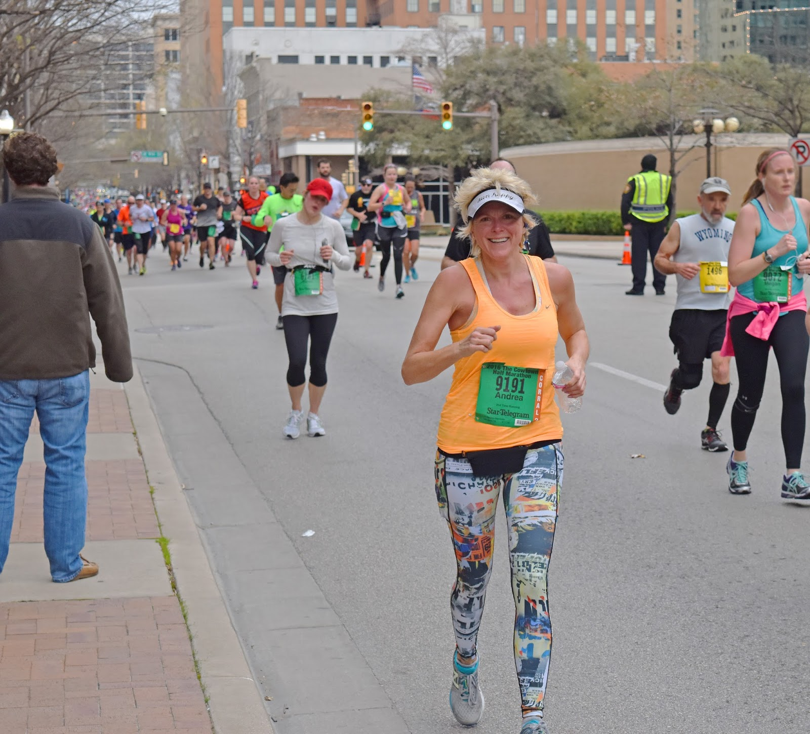 Cowtown Marathon in Fort Worth, Texas