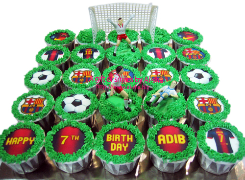 Birthday Cupcake Edible Image Barcelona