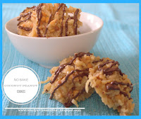 Coconut Peanut Cookies / This and That - gluten free, no bake cookies
