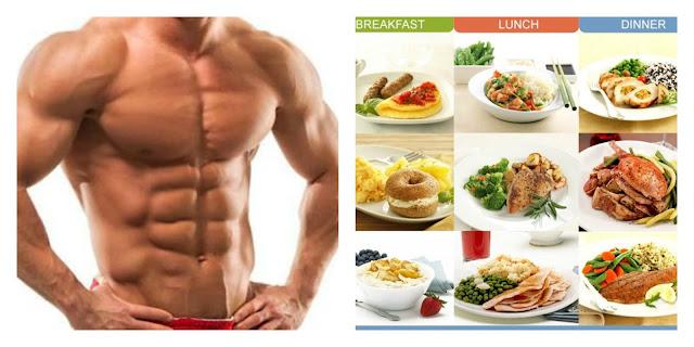Chế độ ăn giảm cân cho nam tập gym
