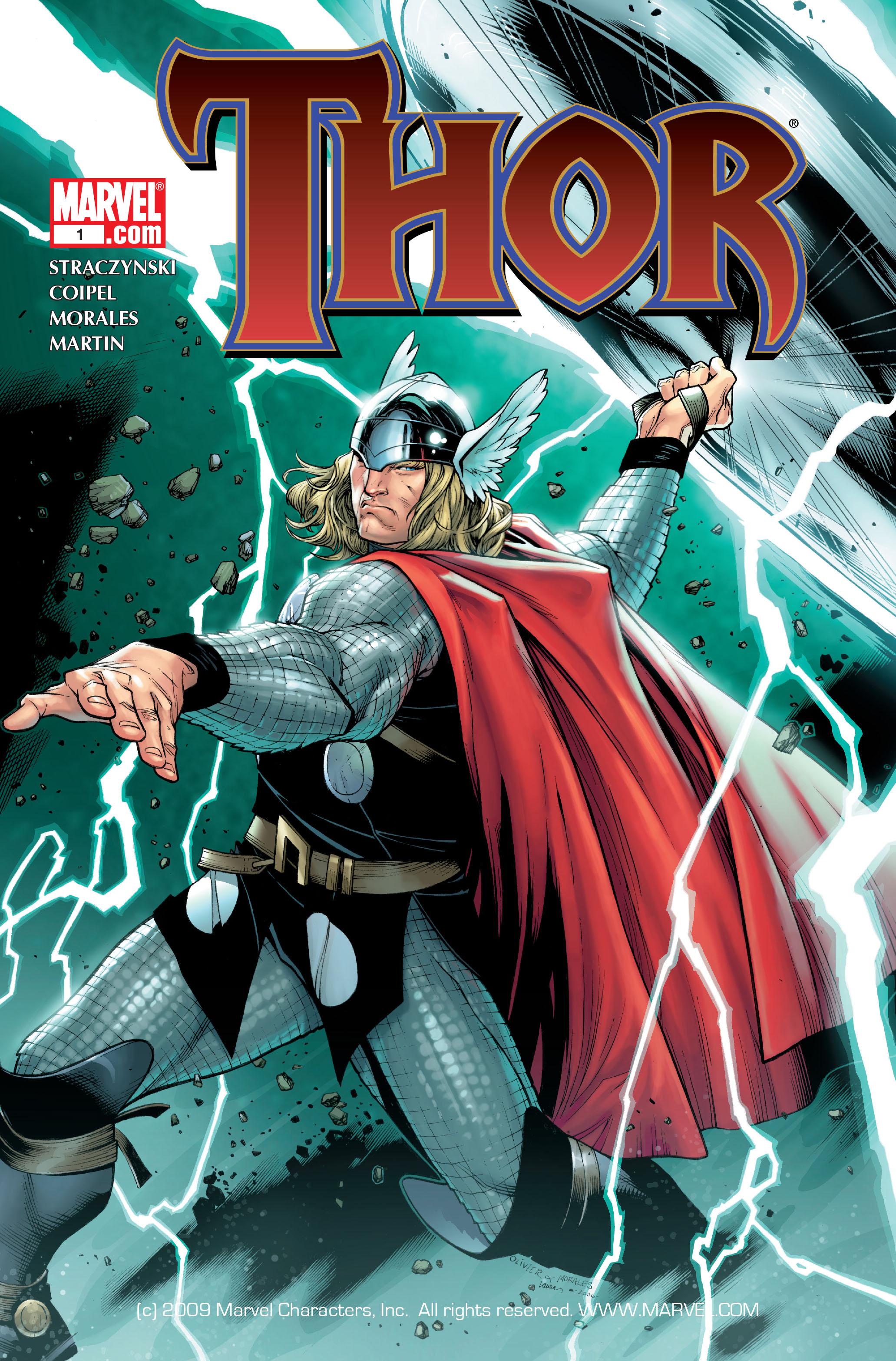 Thor (2007) Issue #1 #1 - English 1