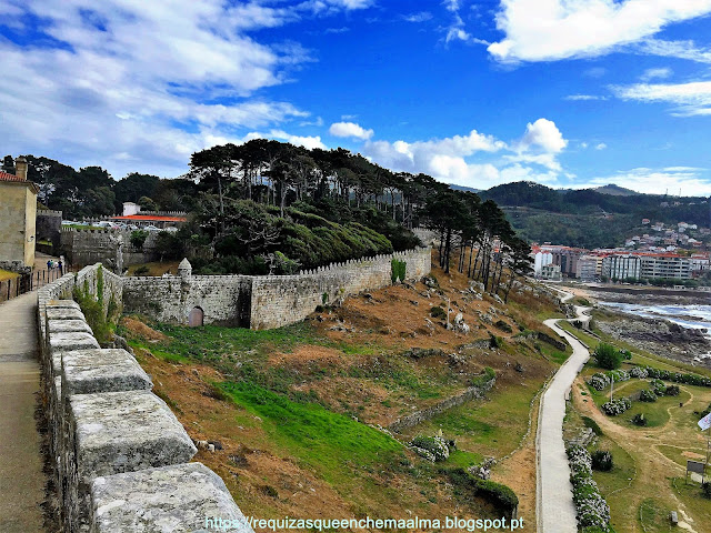 Castelo de Monterreal Baiona