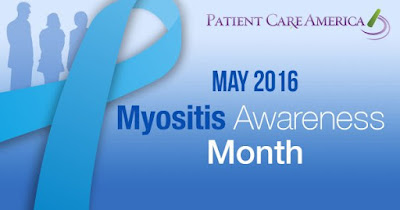 Myositis Awareness Month in May