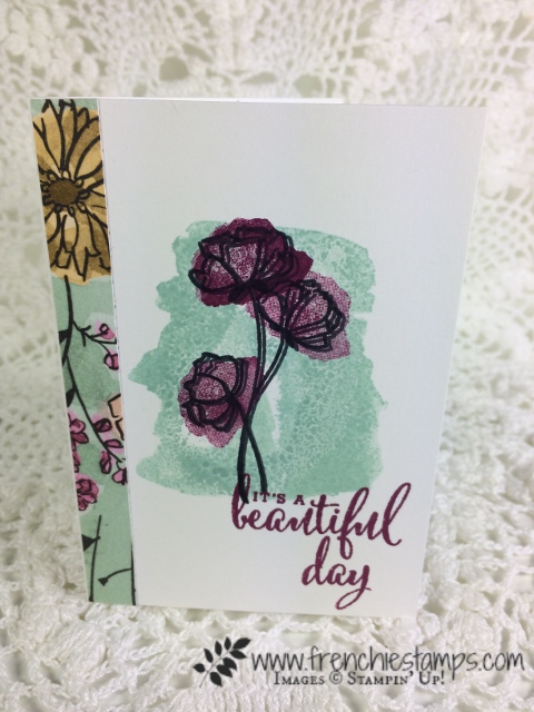 Share What You Love designer Paper, Love What You Do, Stampin'Up!, Frencheistamps,