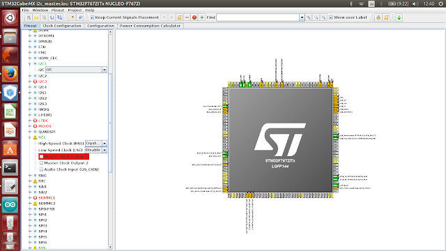 Stm32cube+ Freertos I2C communication between master and slave