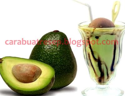 Foto Resep Jus Alpukat Mix Ice Cream Aneka Buah Sehat dan Segar Sederhana Spesial Untuk Diet Asli Enak.