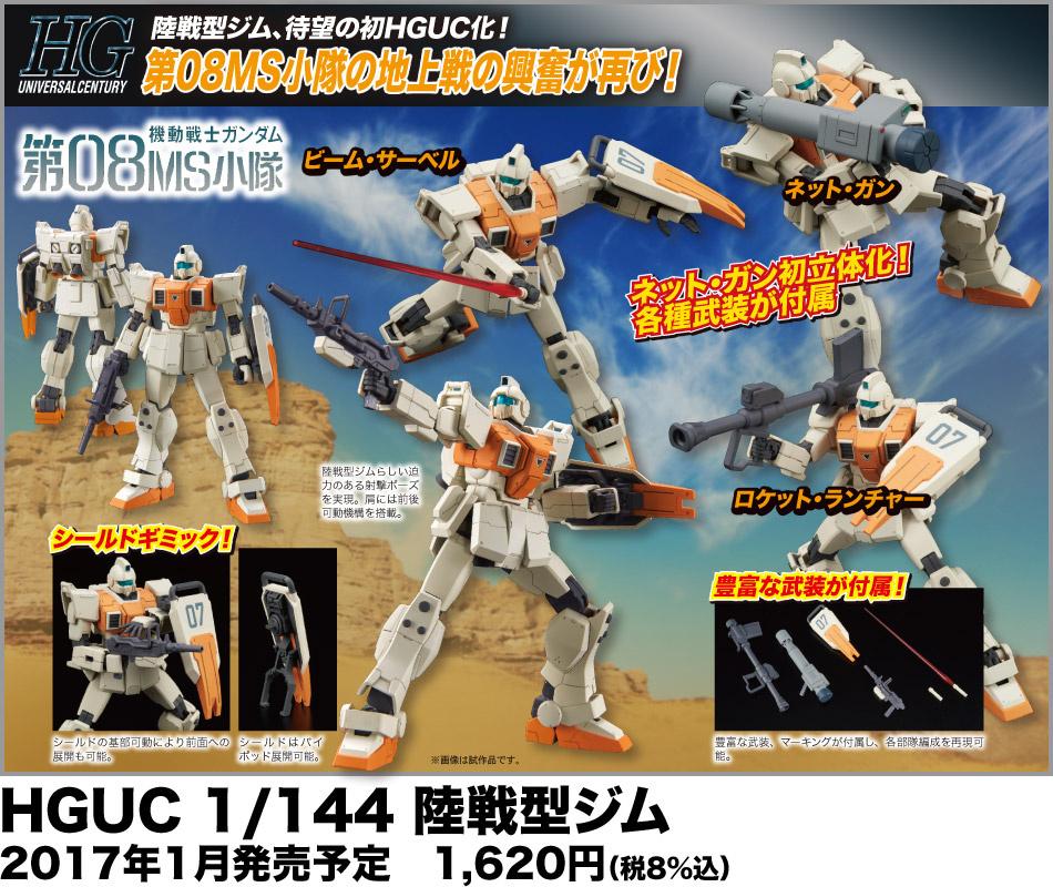 HGUC 1/144 Ground Type GM