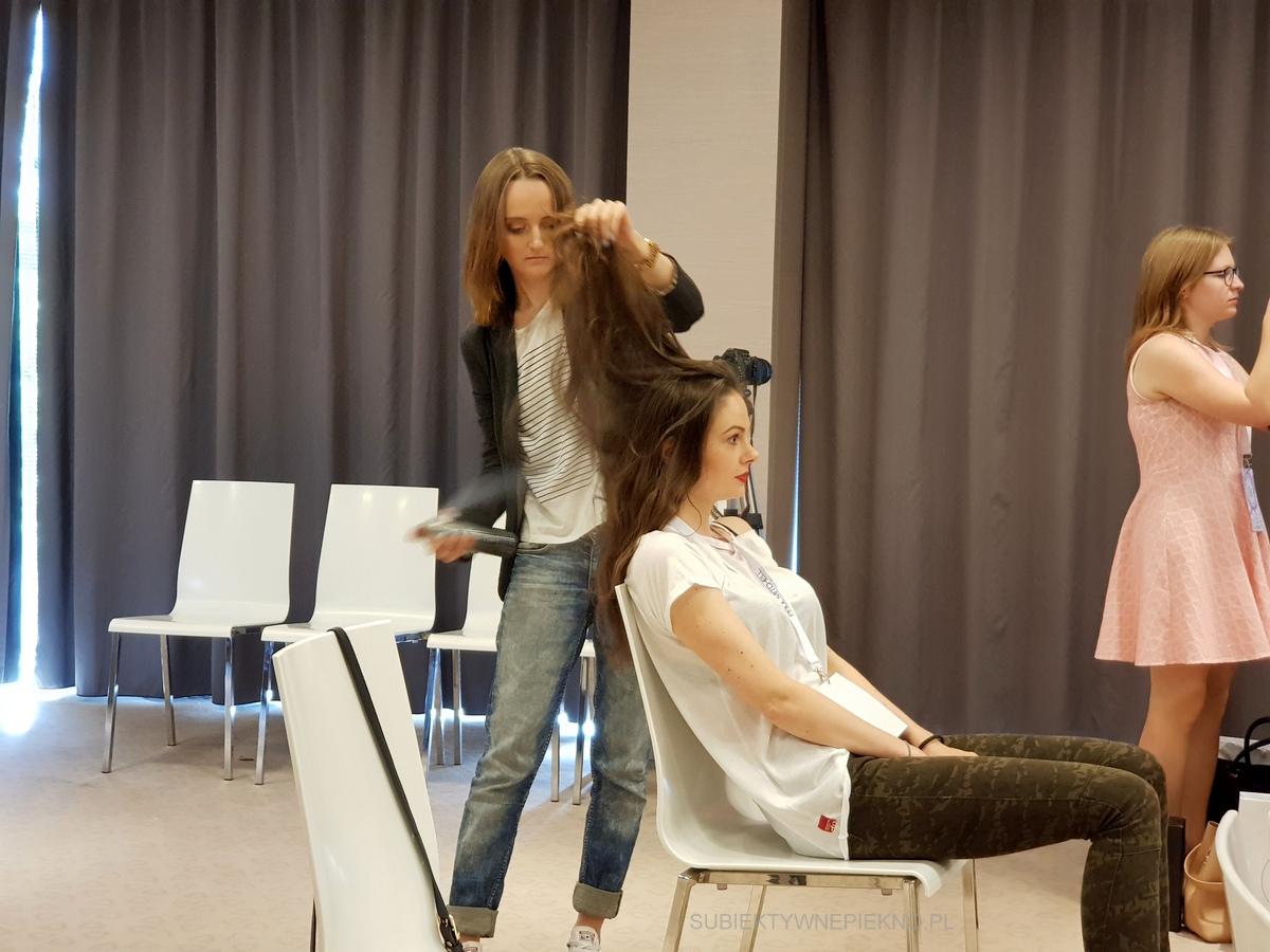 Warsztaty blogerskie Beauty by Bloggers - stylizacja Paul Mitchell