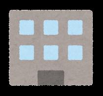 会社の建物のアイコン(零細企業)