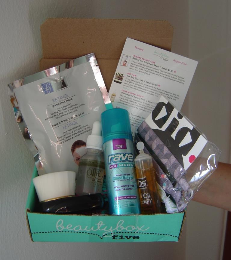 Beauty Box 5 August 2016