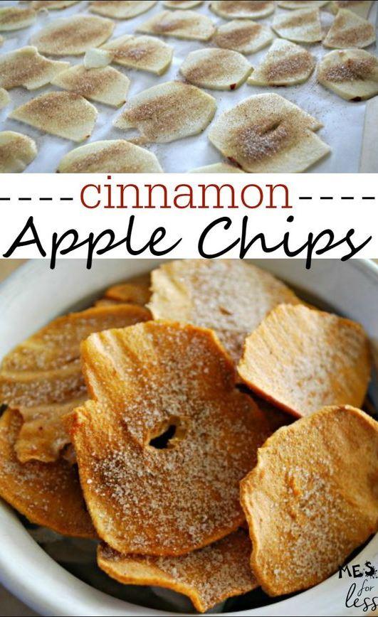 Apple chips recipe