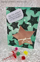 Skipping Stone Design Christmas Star Card