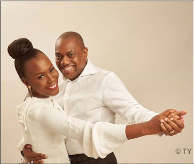 Fela Durotoye Celebrates His Wife's Birthday With Flowery Words