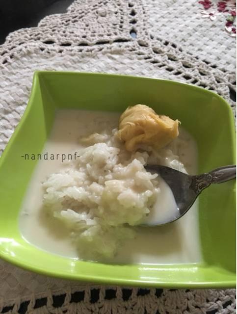 Gambar Pulut Boh Drien, Pulut Durian Khas Aceh