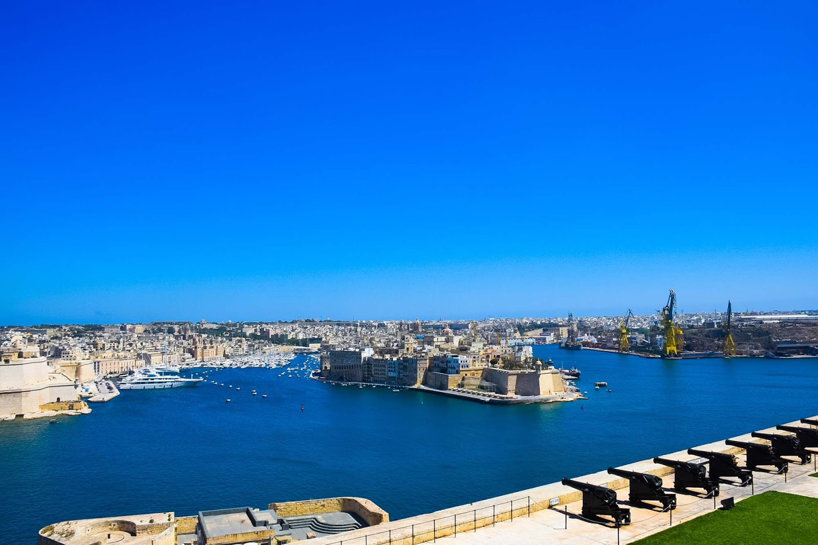 grand harbour of valletta