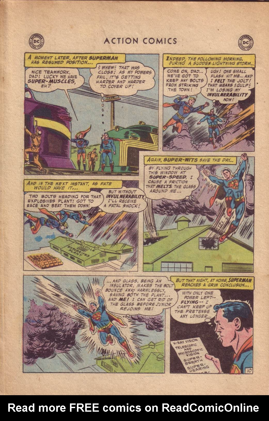 Read online Action Comics (1938) comic -  Issue #232 - 12