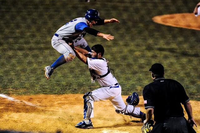 Violent behave in baseball game