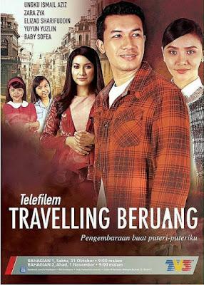 Sinopsis Telefilem Travelling Beruang Di TV3, Telemovie, Pelakon, Ungku Ismail, Zara Zya, Siti Elizad, TV3,