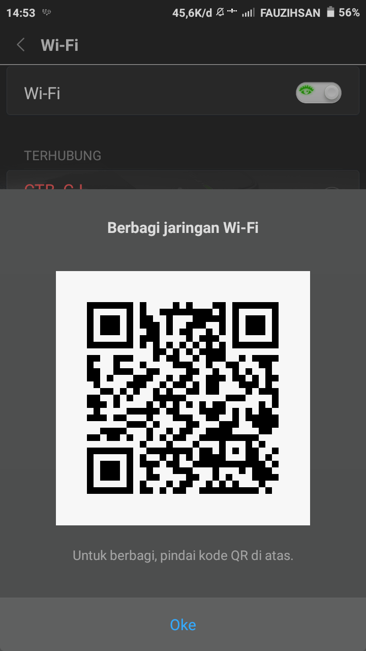 Cara Berbagi Sandi Wifi ke Semua Hp xiaomi, samsung, oppo / Share Wifi Network