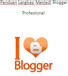 Panduan Lengkap Menjadi Blogger Professional