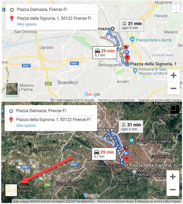 mappa-satellite-stradale