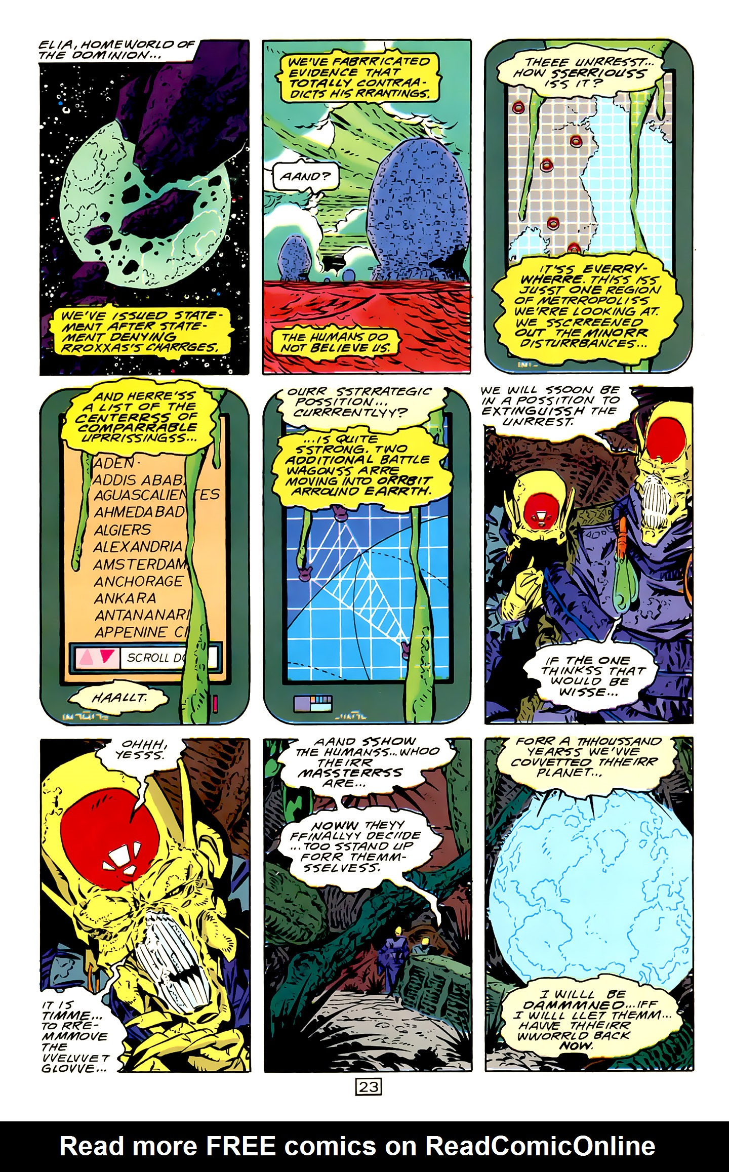 Legion of Super-Heroes (1989) 15 Page 23