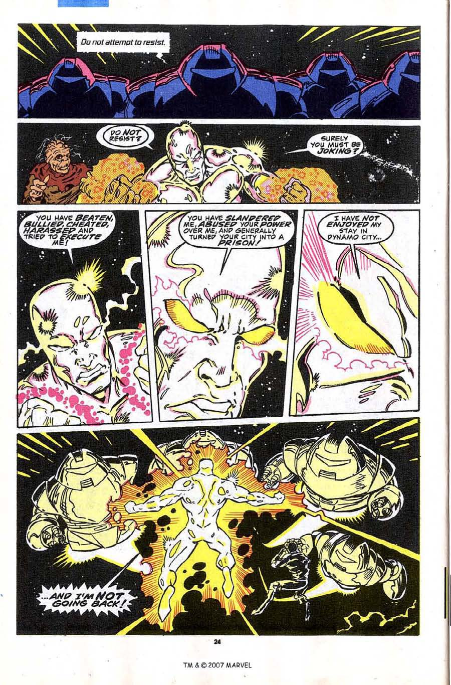 Read online Silver Surfer (1987) comic -  Issue #43 - 26