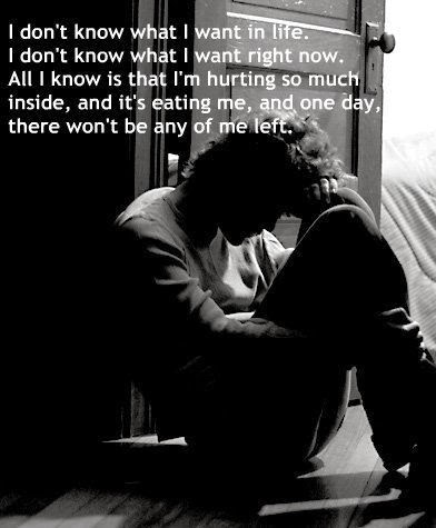 Depression Hurts (Depressing Quotes) 0084 1