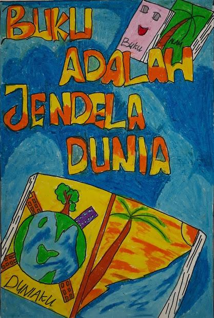 Anak Sd Contoh Poster Yang Mudah Digambar Dan Menarik ...