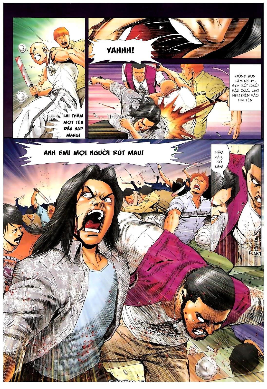Người Trong Giang Hồ - Chapter 1190: Con của Chó Xám - Pic 15
