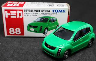 Tomica - 88 , 紙盒裝
