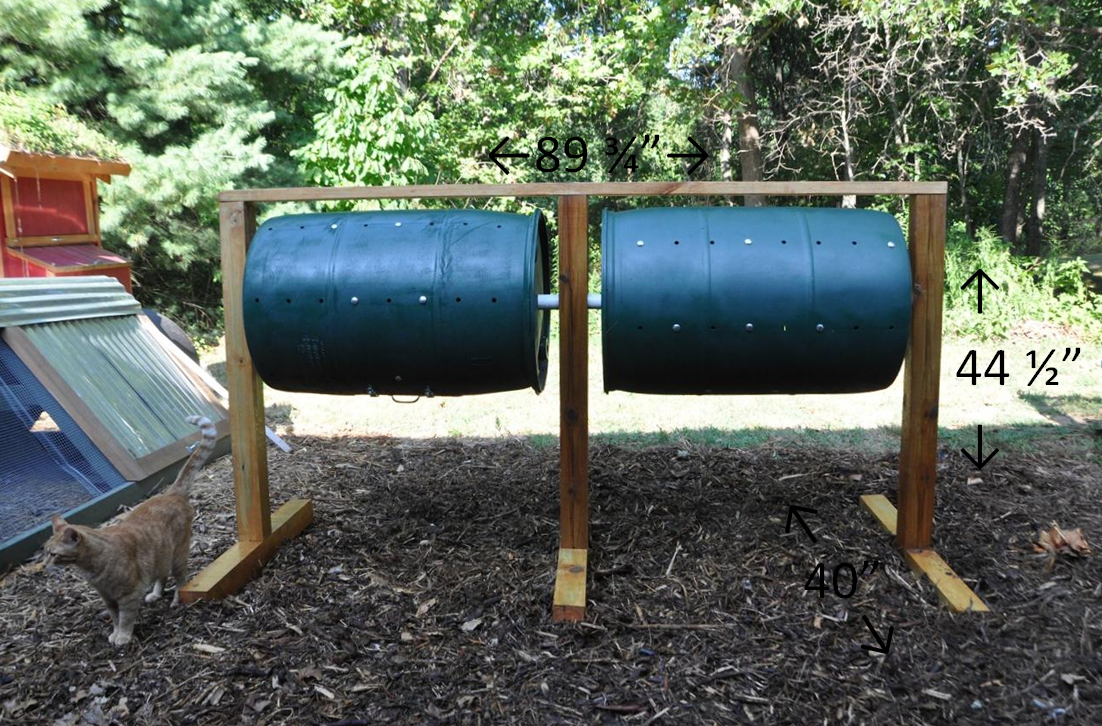 Diy Barrel Compost Tumbler