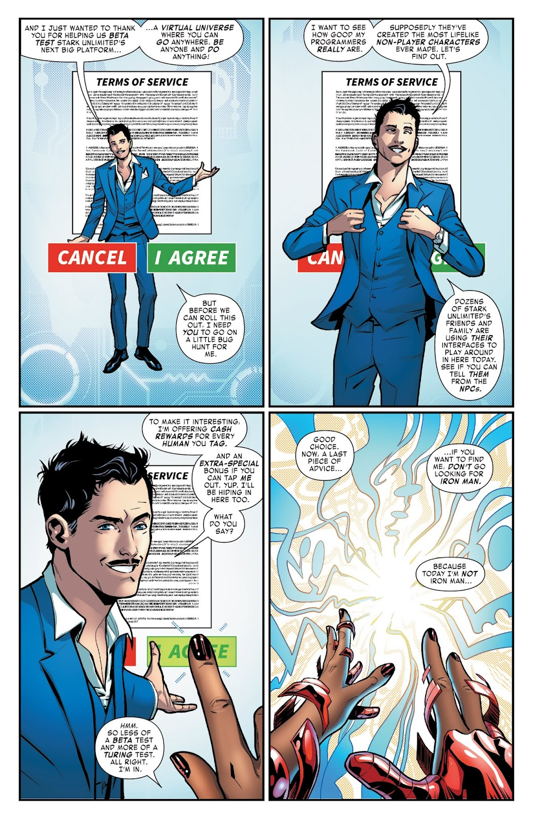 Read online Tony Stark: Iron Man comic -  Issue #3 - 3