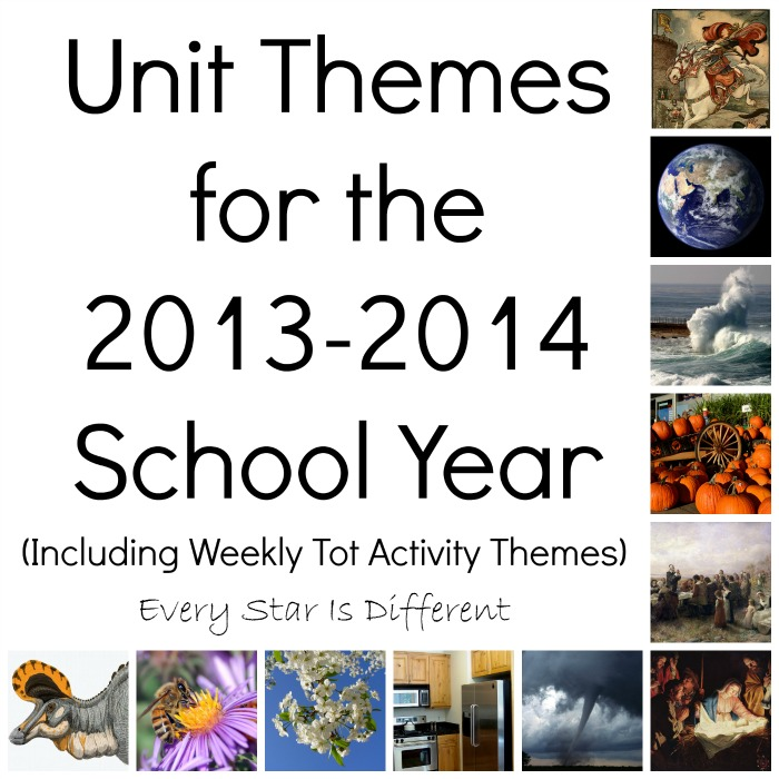 Our Themes for School Year 2013-2014
