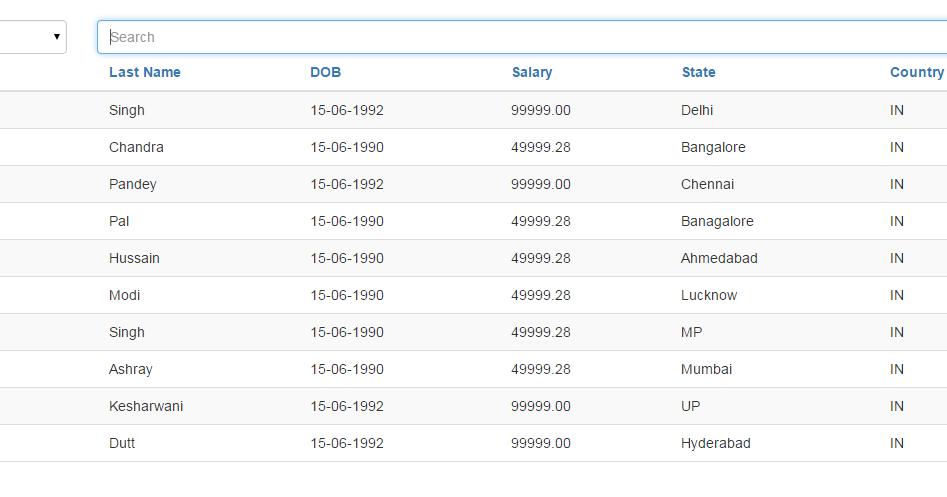 Rohit Kesharwani: WebGrid in Asp.Net MVC