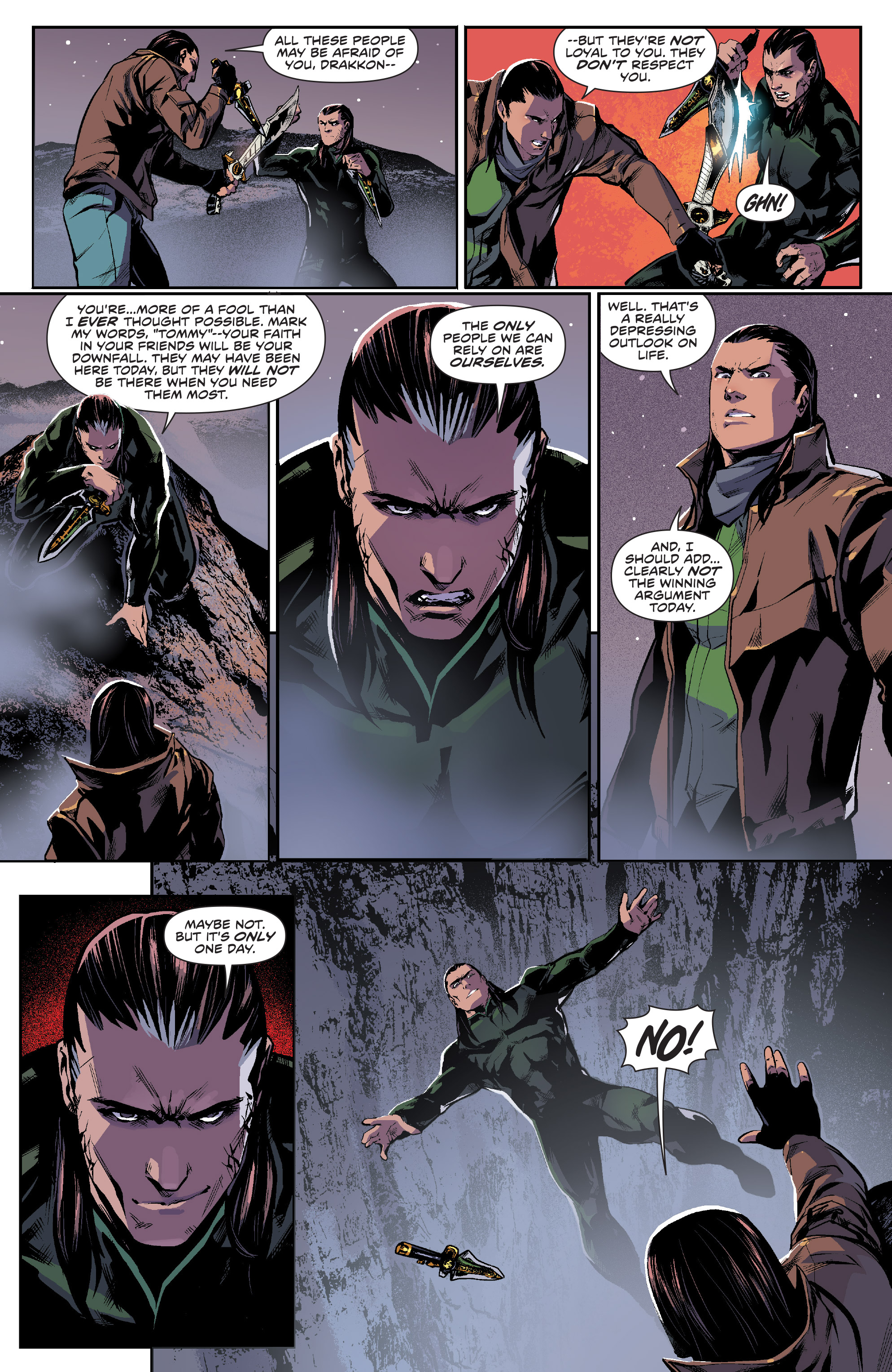 Read online Mighty Morphin Power Rangers comic -  Issue #16 - 15