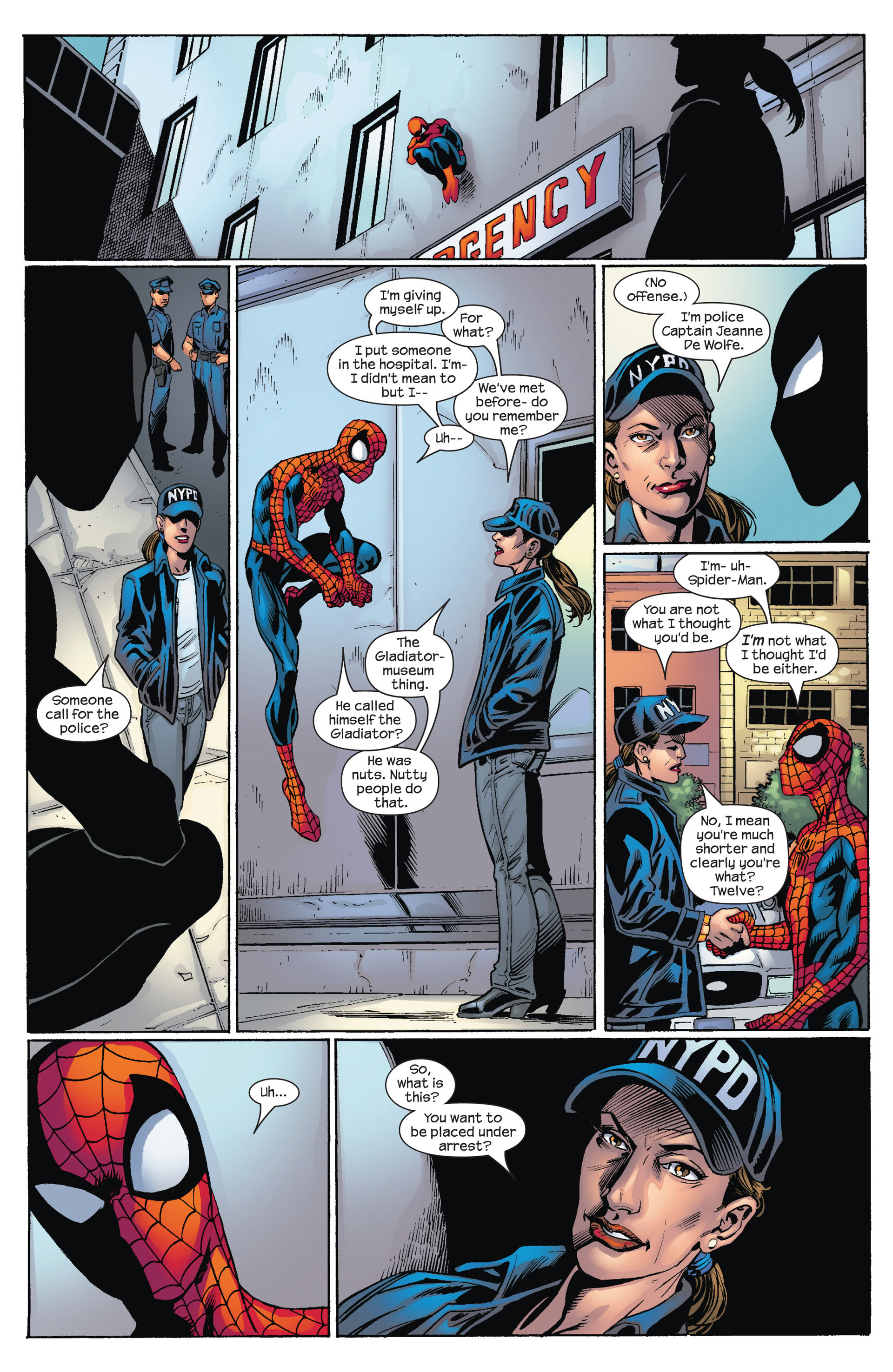 Read online Ultimate Spider-Man (2000) comic -  Issue #74 - 16