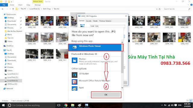 Xem ảnh mặc định với Windows Photo Viewer - H06
