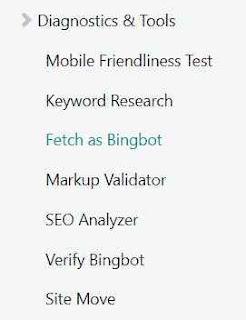 Cara Submit Artikel Di Bing Webmaster Tool