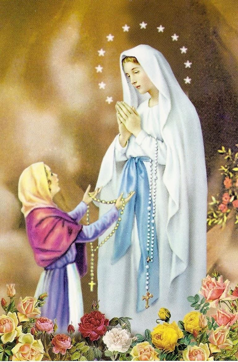 TÔNG ĐỒ SỐNG ĐẠO: Đức Mẹ Lộ Đức _ vì sao tôi theo đạo công ...