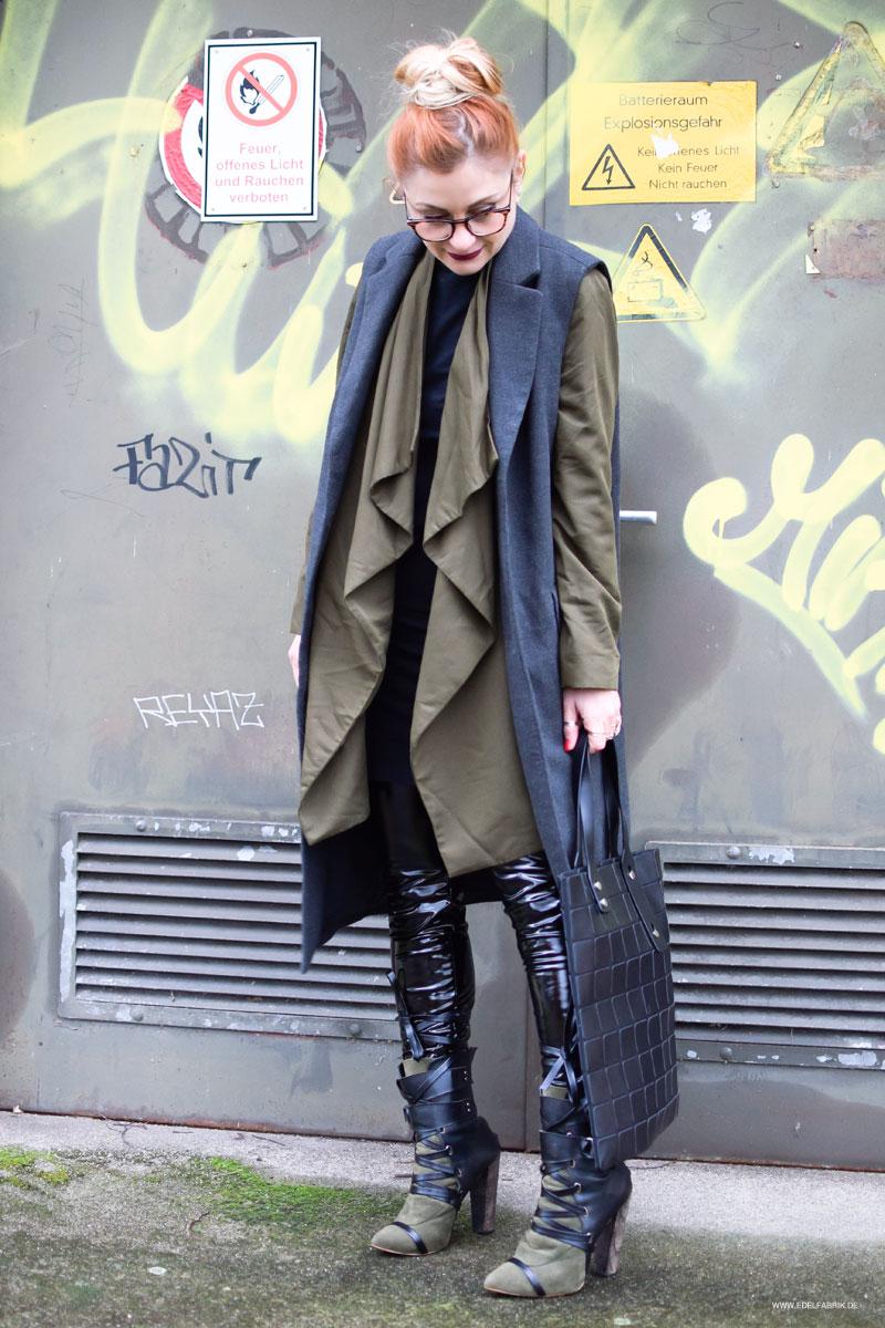 Modeblog für Frauen Ü40, Fashionblog, Lackleder