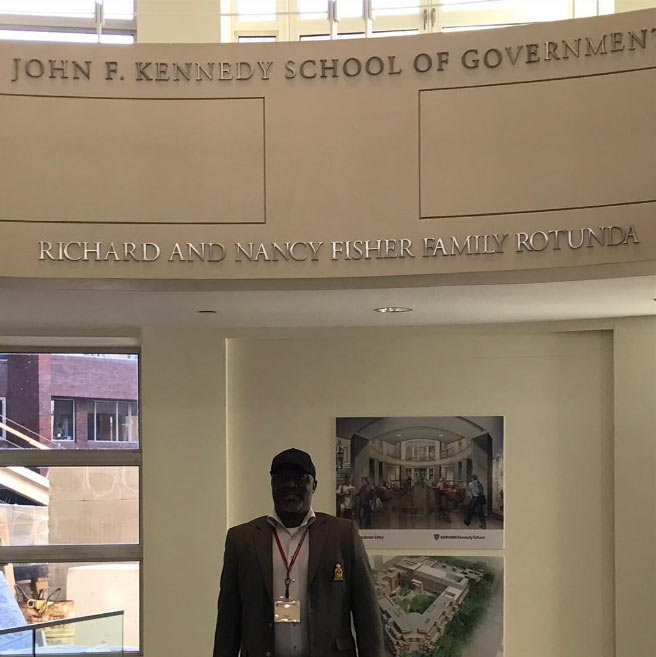 Dino Melaye shows off his classroom and classmates in Harvard