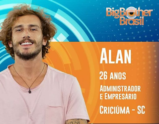 Alan do Big Brother - Instagram Oficial